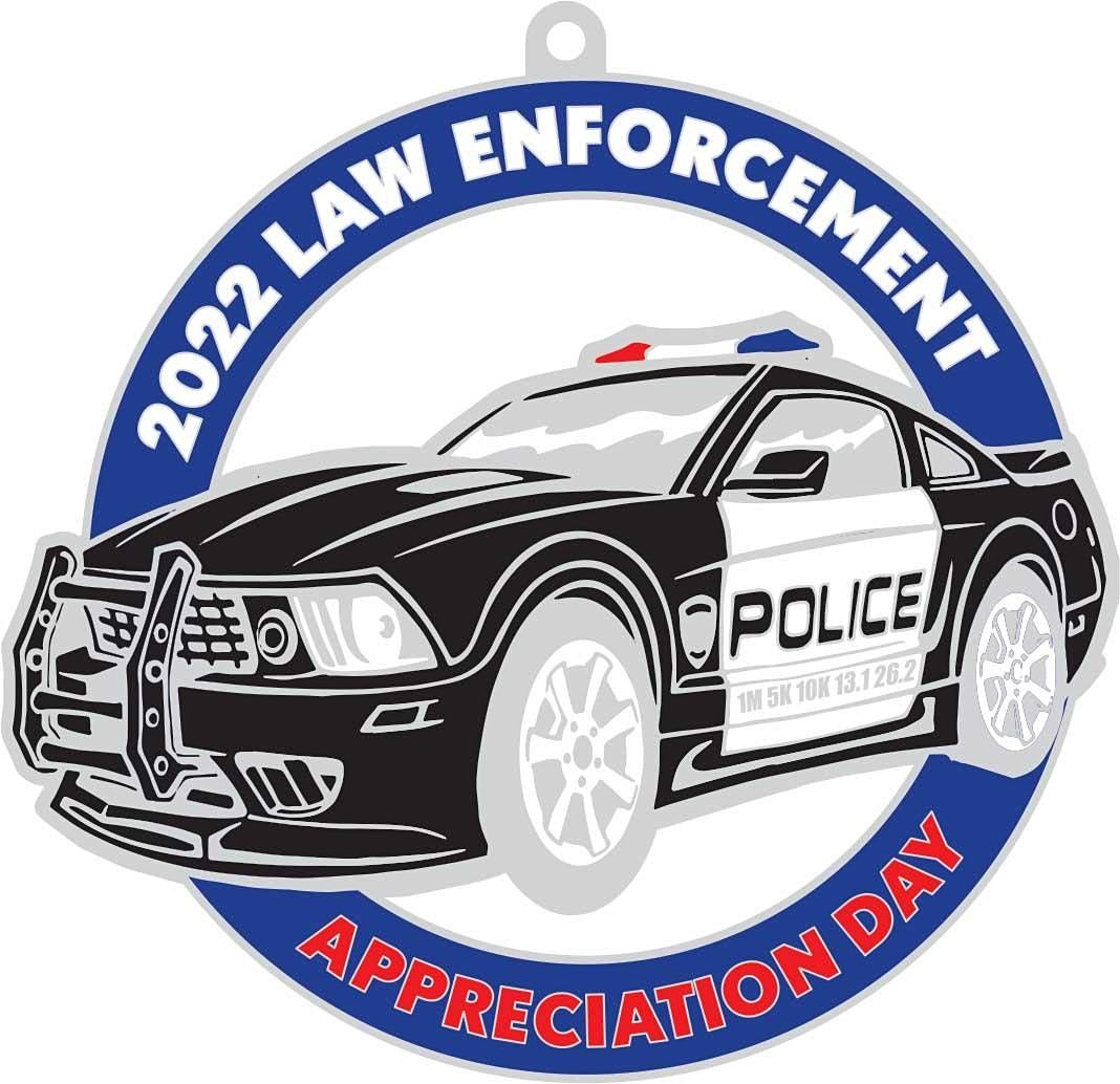 Law Enforcement Appreciation Day 1M 5K 10K 13.1 26.2-Save $2, 9 January | Event in Memphis | AllEvents.in