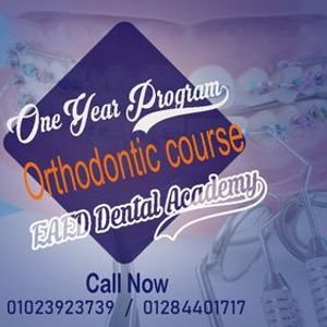 One Year Orthodontic Program 6 (Learning by doing )