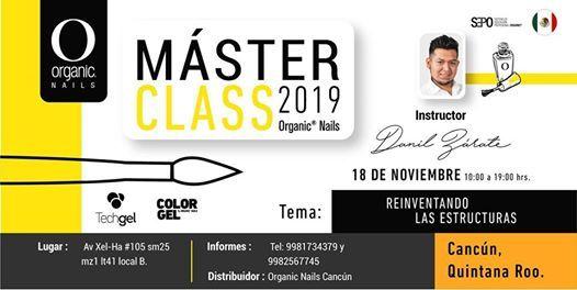 MasterClass 2019  Cancn