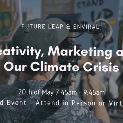 Creativity Marketing and Our Climate Crisis