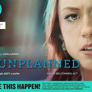 Unplanned - Hoyts Cinemas Belconnen ACT