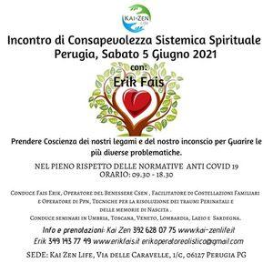Incontro di Consapevolezza Sistemica Spirituale a Perugia