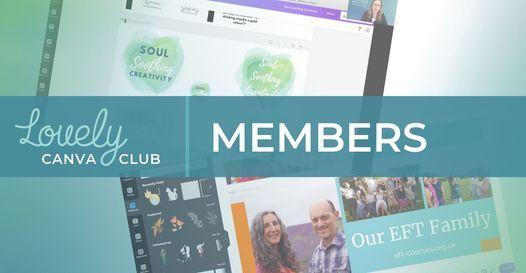 Lovely Canva Club Mini Masterclasses  Membership