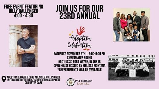 23rd Annual Adoption Celebration, 6 November | Event in Fort Wayne | AllEvents.in