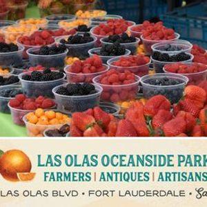 Las Olas Oceanside Park Farmers Antique and Artisan Market
