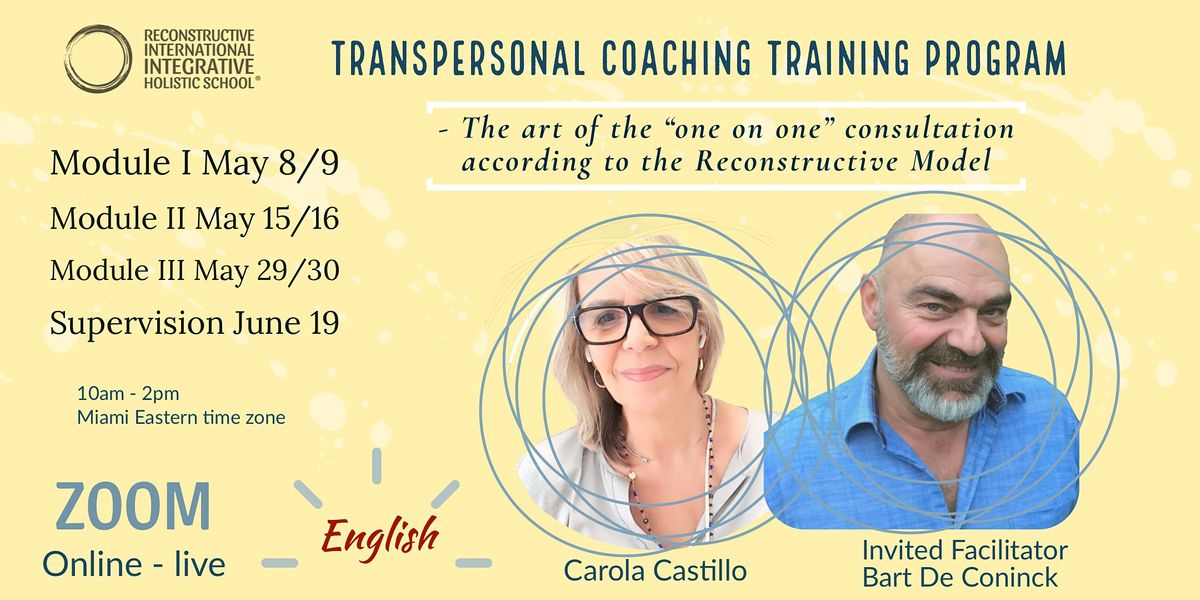 """TRAINING PROGRAM IN  """"TRANSPERSONAL COACHING""""   Online Event   AllEvents.in"""