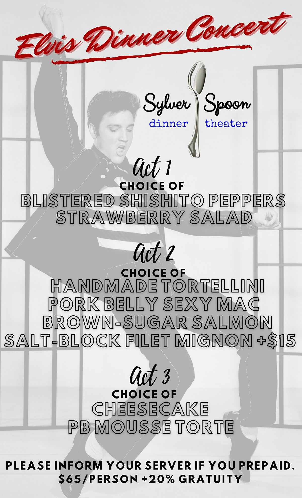 Elvis Dinner Concert and Live Band at Sylver Spoon | Event in New Braunfels | AllEvents.in