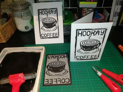 Lino Printing Basics, 6 August   Event in Chesterfield   AllEvents.in