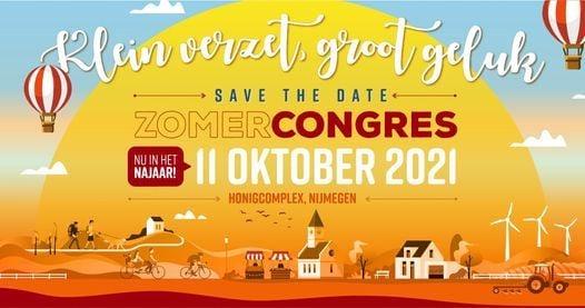 Zomercongres 2021 - Klein verzet, groot geluk, 11 October | Event in Nijmegen | AllEvents.in