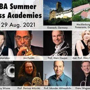 WBA Summer Brass Academies - Aug. 2021 - France - Belgium - Germany