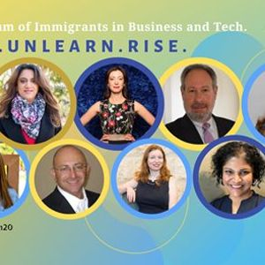 The Forum of Immigrants in Business and Tech Fail. Unlearn. Rise.