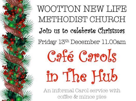 Cafe Carols in The Hub