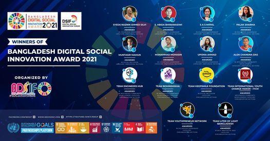 Bangladesh Digital Social Innovation Award 2021, 11 July | Event in Dhaka | AllEvents.in