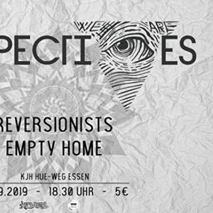13.09.2019 - We Are Perspectives  Reversionists  Empty Home