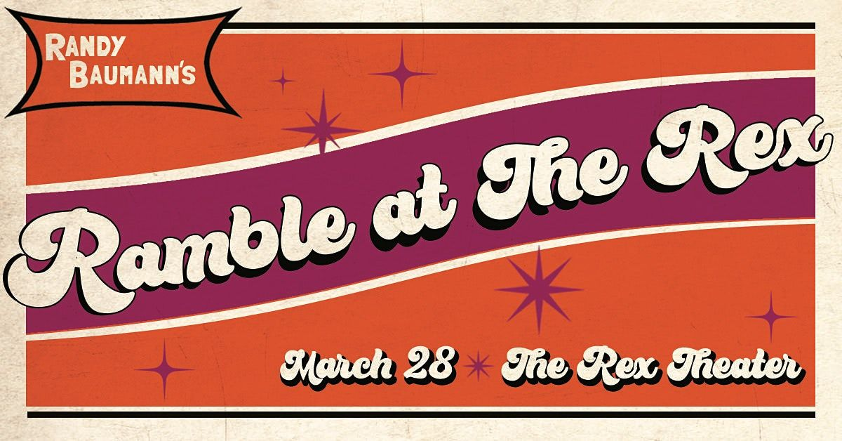 Randy Baumann's Ramble at The Rex, 1 February | Event in Pittsburgh | AllEvents.in