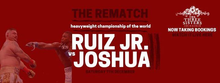 Anthony Joshua V Andy Ruiz Jr
