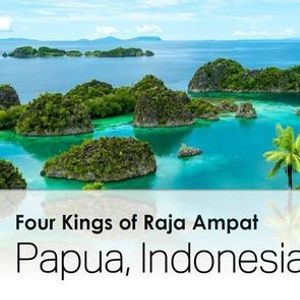 Four Kings of Raja Ampat  EID in Papua Indonesia