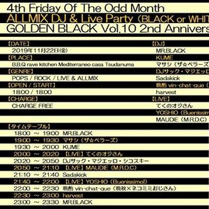 Golden BLACK Vol.10 2nd Anniversary SP