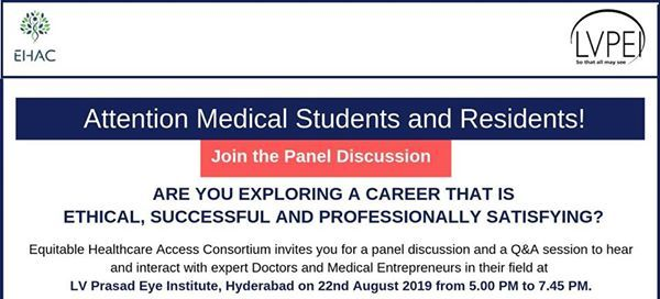 Panel Discussion for Medical Students & Residents at LV