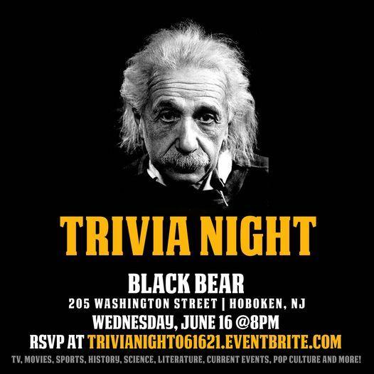 General Trivia Nig, 16 June | Event in Hoboken | AllEvents.in