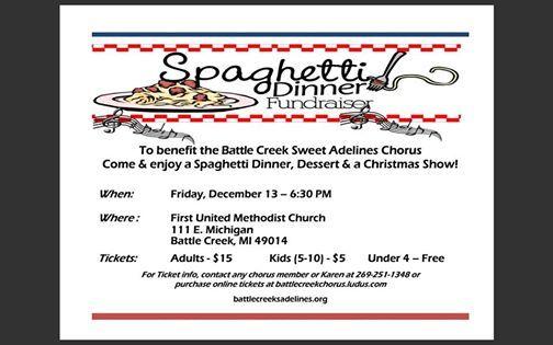 Spaghetti Dinner & Christmas Show
