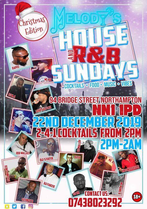 House and R&B Sundays - Christmas Special