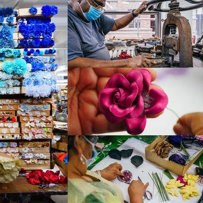 Rare Look Inside M&S Schmalberg NYCs Last Custom Fabric Flower Factory