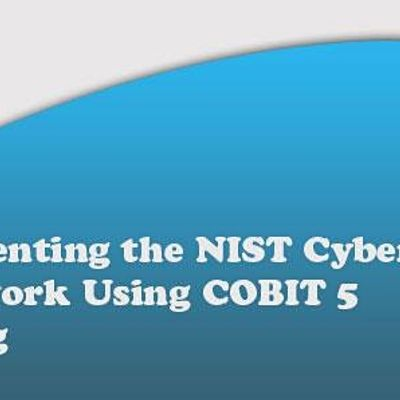 Implementing the NIST Cybersecurity Framework Using COBIT5 2Days-Dusseldorf
