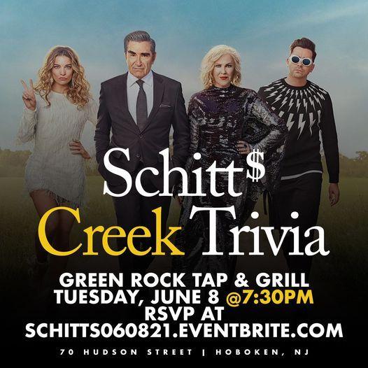 Schitt's Creek Trivia, 8 June | Event in Hoboken | AllEvents.in