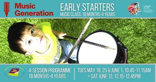 Music Generation Early Starters 18 months – 4 years   Event in Tallaght   AllEvents.in