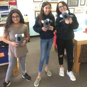 Homeschool Sewing Classes Koala Plushie