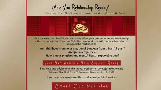 Women's Meetup Islamabad to Learn to Make Your Relationships Happy, Healthy and Successful, 26 May | AllEvents.in