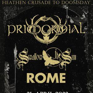 Primodial & Naglfar Heathen Crusade  Pumpehuset  22. april 2021