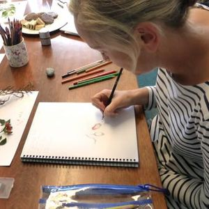 Drawing and Painting Classes Inspired by Nature - with Julie H
