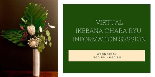 Virtual Ikebana Ohara Ryu Information Session and Student Art Show, 2 June | Online Event | AllEvents.in