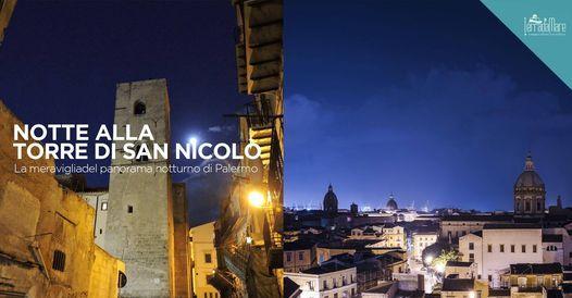 Notte alla Torre di San Nicolò. La vista più bella di Palermo | Event in Palermo | AllEvents.in