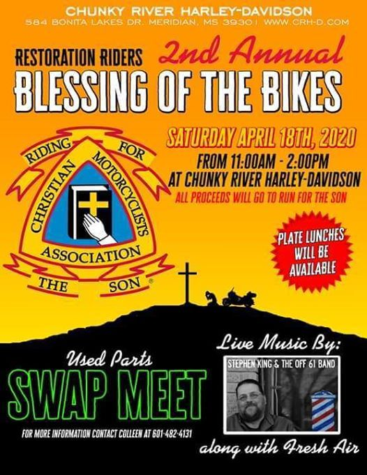 Restoration Riders 2nd Annual Blessing Of The Bikes