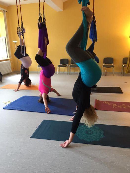 Dana Aerial Yoga High-Deep-Sonnengrsse