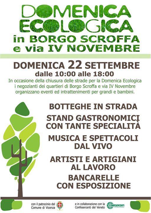 Domenica ecologica in via IV novembre e Borgo Scroffa