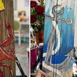 Virtual Painting Kent Island 11U Bucs Fundraiser