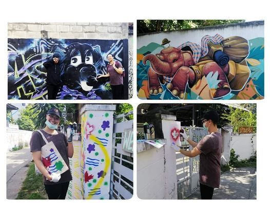 Chiang Mai Street Art Tour&Work Shop, 31 October | Event in Phitsanulok | AllEvents.in