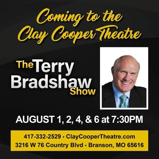 The Terry Bradshaw Show, 1 August | Event in Kirbyville | AllEvents.in