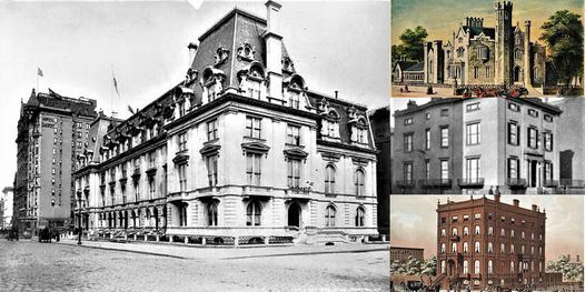 'The Lost & Forgotten Gilded Age Mansions of Fifth Avenue' Webinar, 23 March | Online Event | AllEvents.in