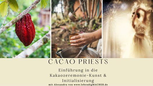 """Seminar """"Cacao Priests"""": Einführung in die Kakaozeremonie-Kunst & Initialisierung, 10 July"""