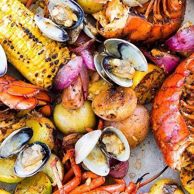 New England Lobster Boil