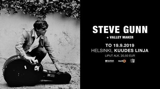 Steve Gunn soloValley Maker to 19.9. Kuudes Linja Helsinki