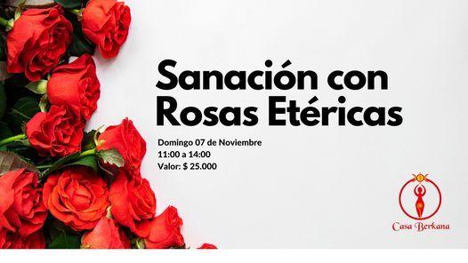 Online Sanación con Rosas Etéricas, 7 November   Online Event   AllEvents.in