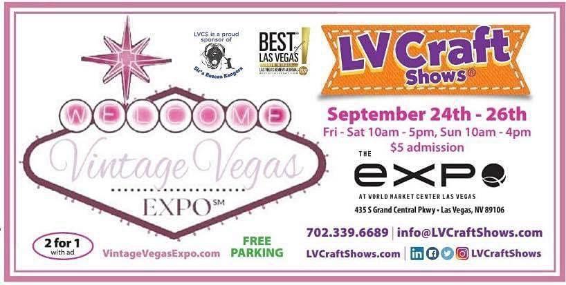 Vintage Vegas Expo | Event in Las Vegas | AllEvents.in