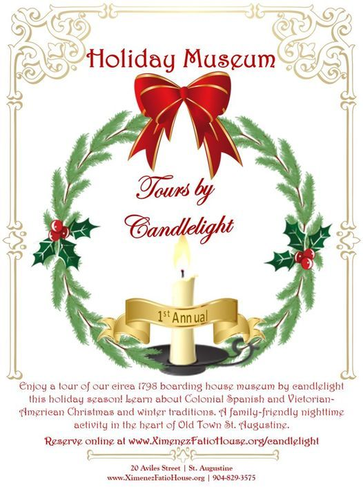 Holiday Candlelight Tours | Event in House | AllEvents.in