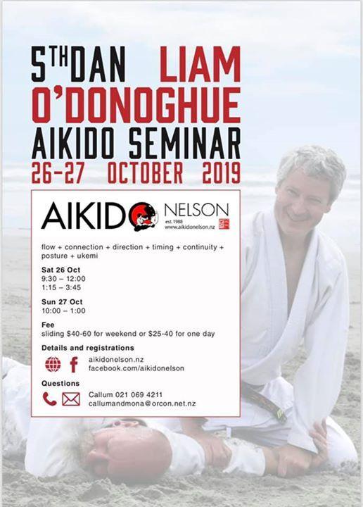 Aikido Seminar with Liam ODonoghue